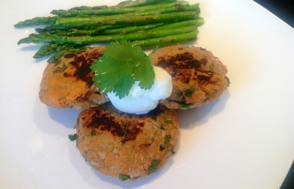 Healthy-Tuna-Sweet-Potato-Cumin-Coriander-Fishcakes